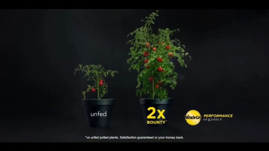 MiracleGro Performance Organics TV Commercial Ad 2020, No Compromises