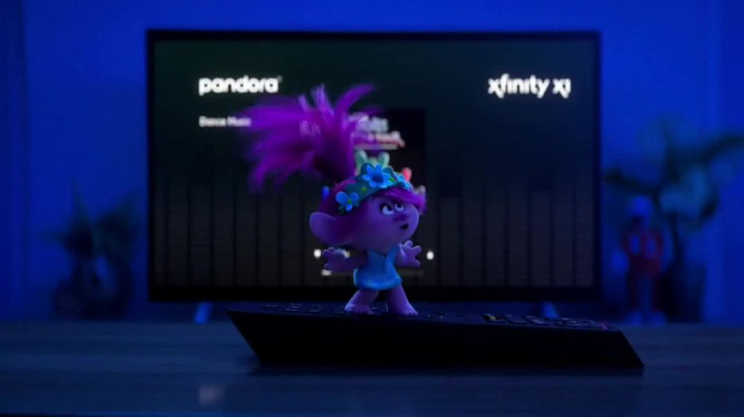 Comcast_XFINITY TV Commercial Ad 2020, Trolls World Tour Lets Party, People! Song by Anthony Ramos