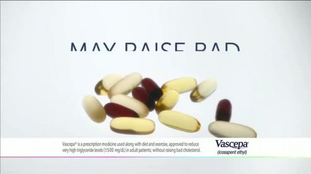Vascepa TV Commercial Ad 2020, Managing Lipids