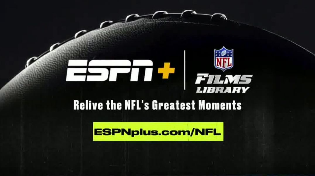 ESPN+ TV Commercial Ad 2020, NFL FIlms Library Greatest Moments Song by Sam Spence