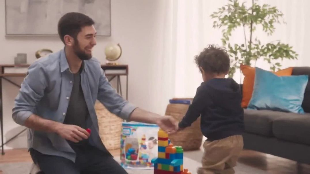 Mega Bloks First Builders TV Commercial Ad 2020, Perfect Fit and Safe