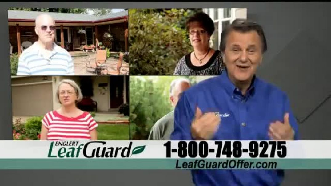 LeafGuard Spring Blowout Sale TV Commercial Ad 2020, Double Your Gift