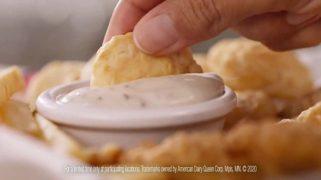 Dairy Queen Chicken and Biscuits Basket TV Commercial Ad 2020, 100 Percent
