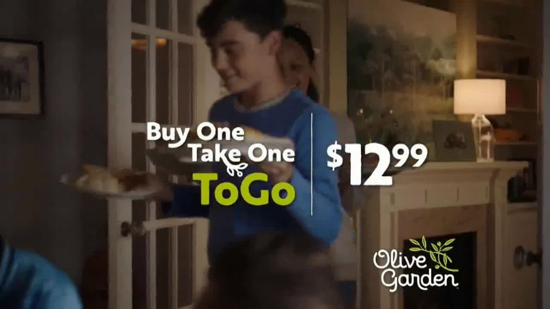 Olive Garden Buy One Take One TV Commercial Ad 2020, Pickup or Delivery