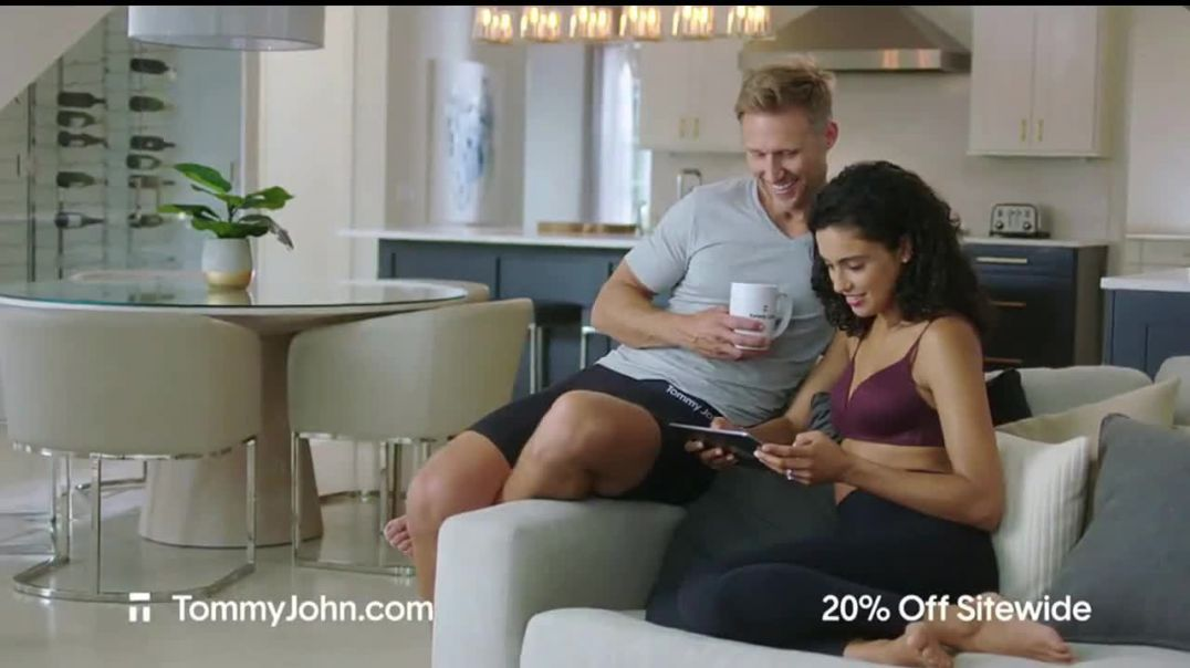 Tommy John Spring Sale TV Commercial Ad 2020, 20 Percent Off Sitewide