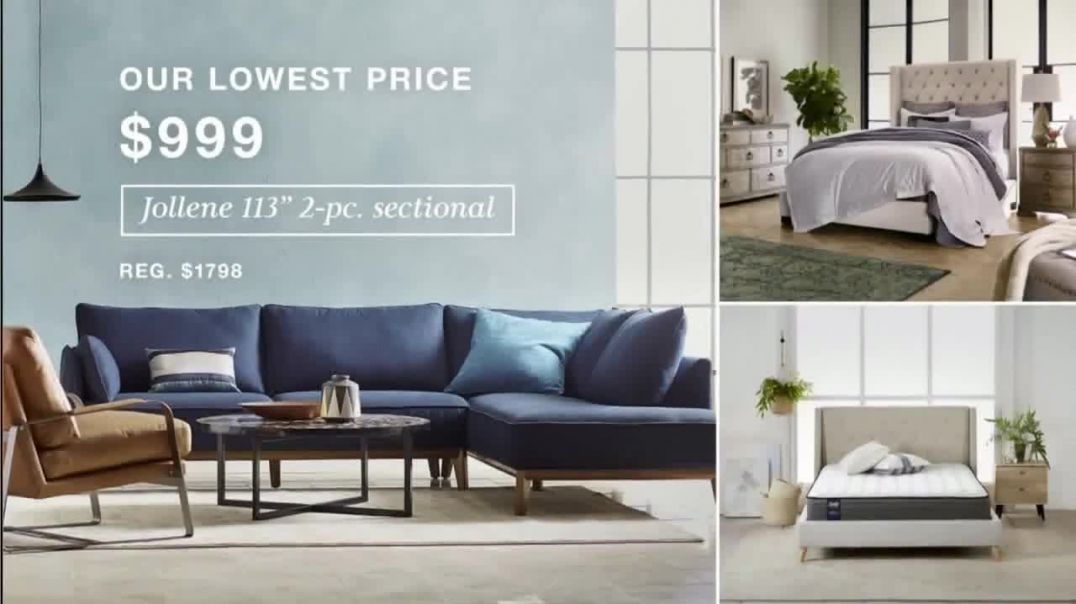 Macys TV Commercial Ad 2020, Lowest Prices of the Season Sectional, Shoes and Fine Jewelry