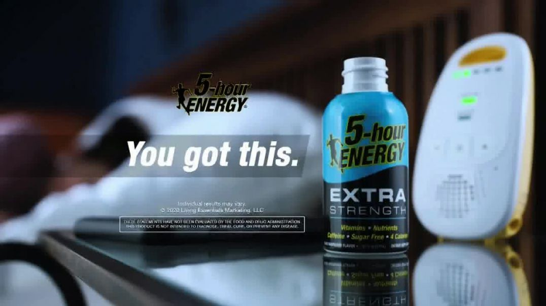 5Hour Energy Extra Strength TV Commercial Ad 2020, Dads Turn