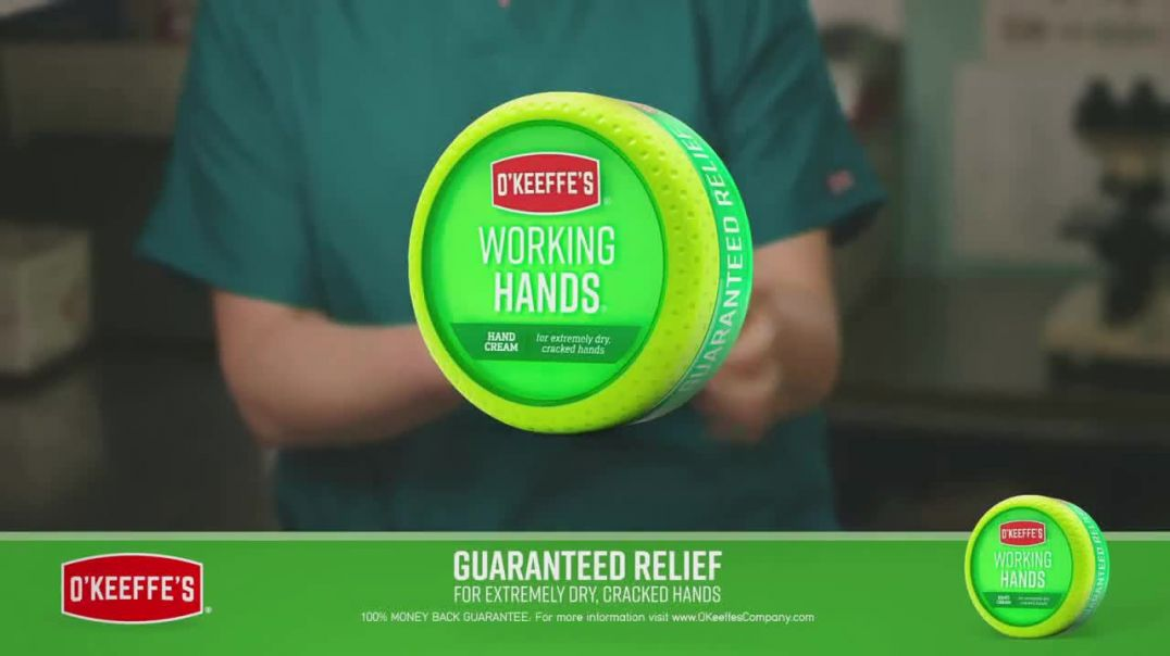 OKeeffes Working Hands TV Commercial Ad 2020, Medical Professionals Hand Washing
