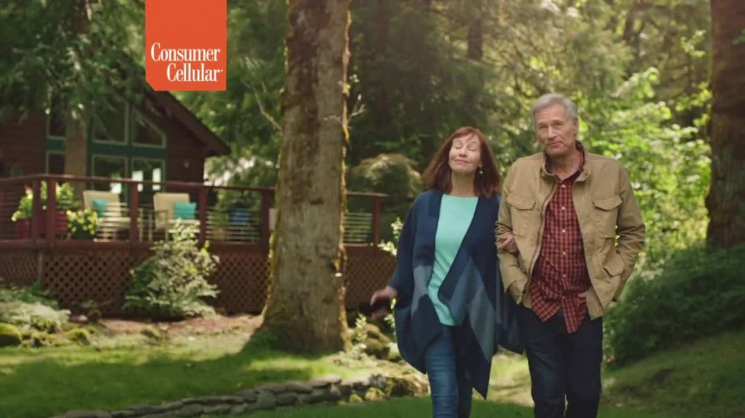 Consumer Cellular TV Commercial Ad 2020, Cabin Plans $20+ a Month