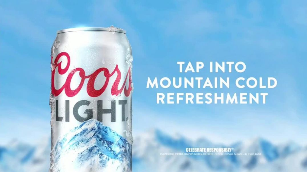 Coors Light TV Commercial Ad 2020, Tap Into Mountain Cold Refreshment Song by Berry Lipman Singers