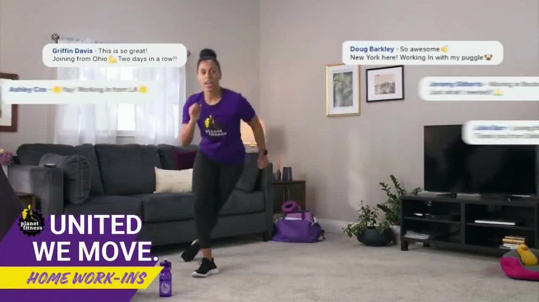 Planet Fitness TV Commercial Ad 2020, Staying Active At Home WorkIns