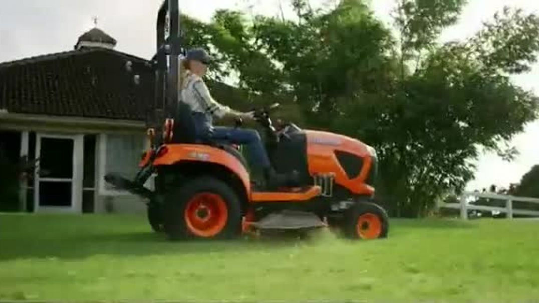 Kubota BX Series TV Commercial Ad 2020, All This Grass