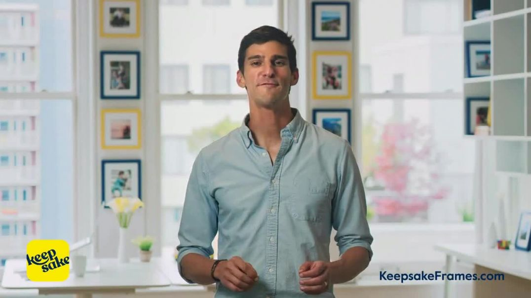 Keepsake Frames TV Commercial Ad 2020, The Easy Way