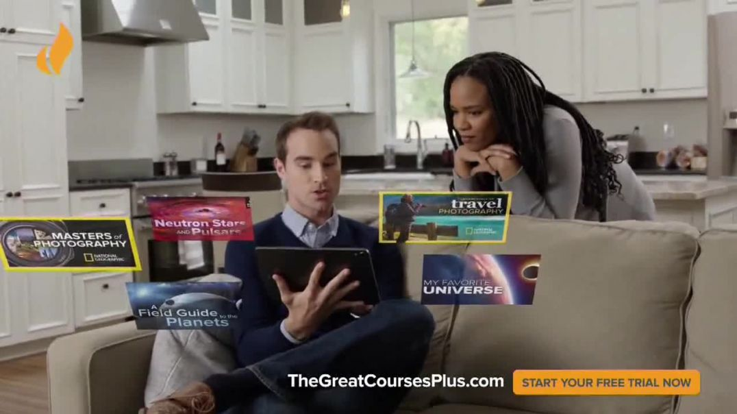 The Great Courses Plus TV Commercial Ad 2020, Open New Worlds