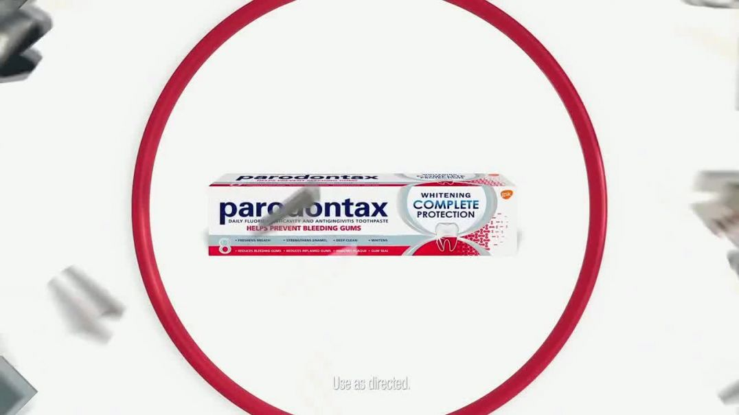 Parodontax Complete Protection TV Commercial Ad 2020, Bleeding Gums