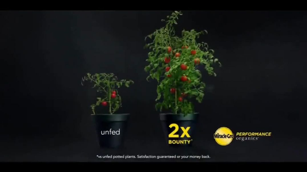 MiracleGro Performance Organics TV Commercial Ad 2020, No Compromise Order Online
