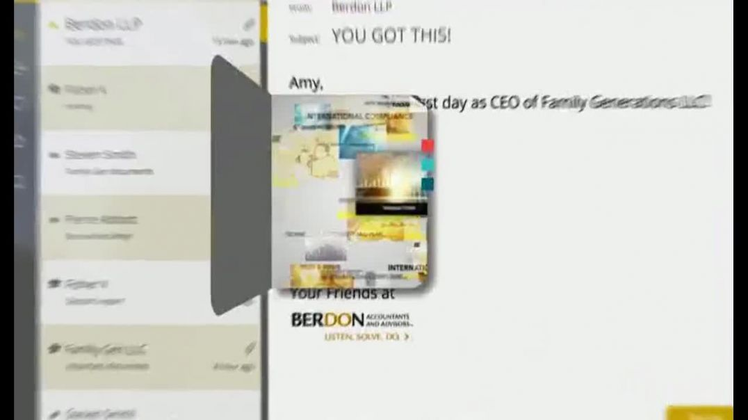 Berdon LLP TV Commercial Ad 2020, Great Vision