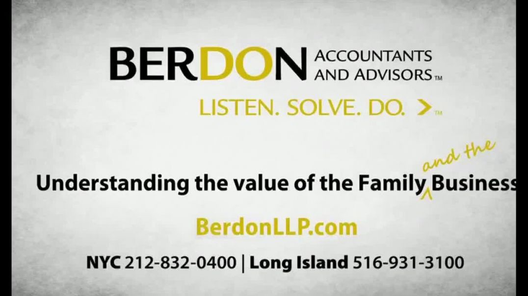 Berdon LLP TV Commercial Ad 2020, What Matters Most