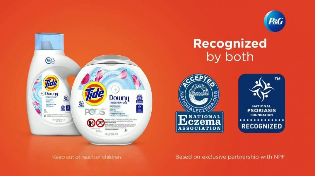 Tide PODS + Downy Free TV Commercial Ad 2020, For Super Heroes With Sensitive Skin