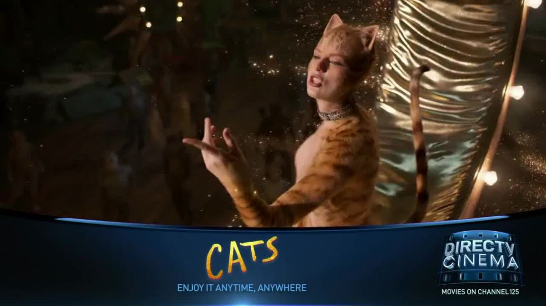 DIRECTV Cinema TV Commercial Ad 2020, Cats (2019)