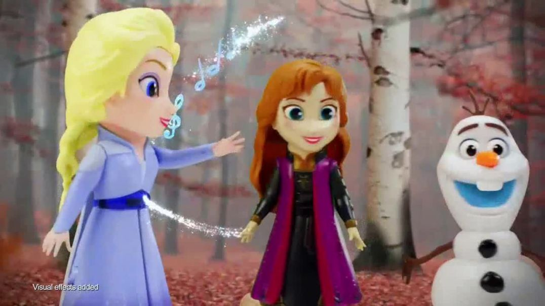 Frozen II Interactive Storytelling Figures TV Commercial Ad 2020, Experience the Adventure Song by I