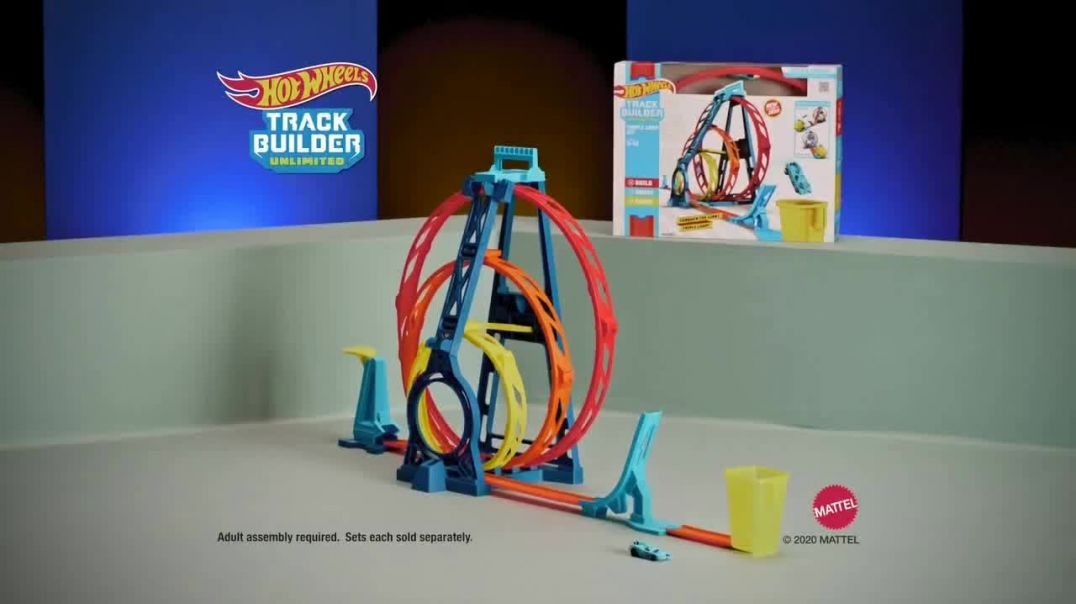 Hot Wheels Track Builder Unlimited TV Commercial Ad 2020, Build and Boost Featuring Tanner Fox