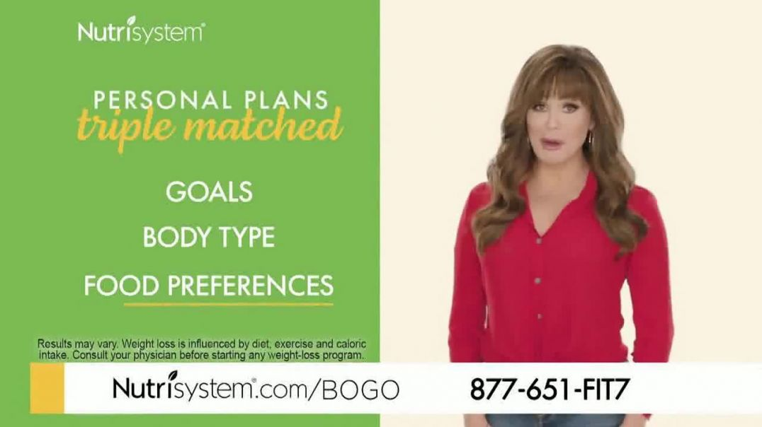 Nutrisystem Personal Plans TV Commercial Ad 2020, BOGO Featuring Marie Osmond