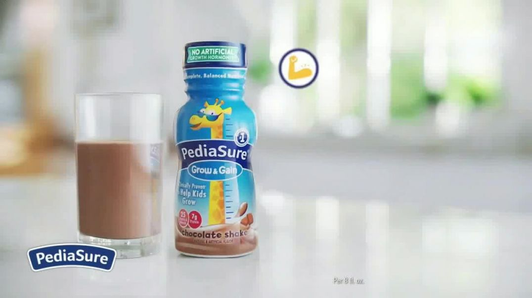 PediaSure Grow & Gain Shakes TV Commercial Ad 2020, A Lot to Look Up to Organic