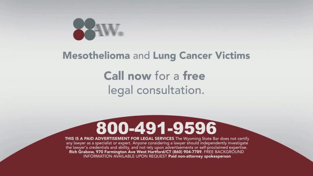 Sokolove Law TV Commercial Ad 2020, Mesothelioma Eligible for Compensation