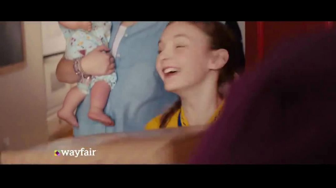 Wayfair TV Commercial Ad 2020, The Shipping You Get Even the Big Stuff
