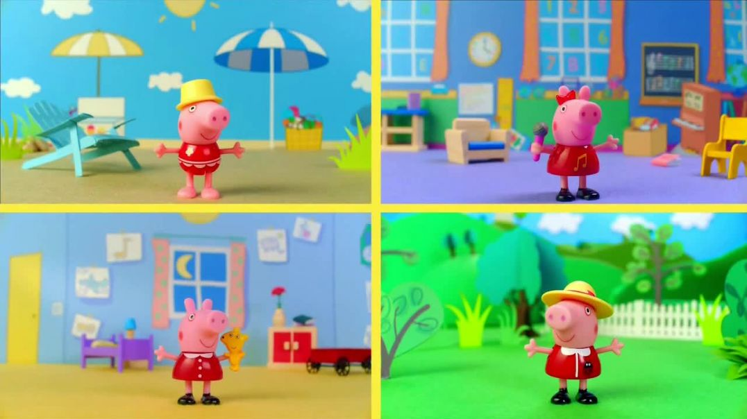 Peppa Pig Peppas Surprise Balloons and Surprise Mini Campervans TV Commercial Ad 2020, Peel &amp