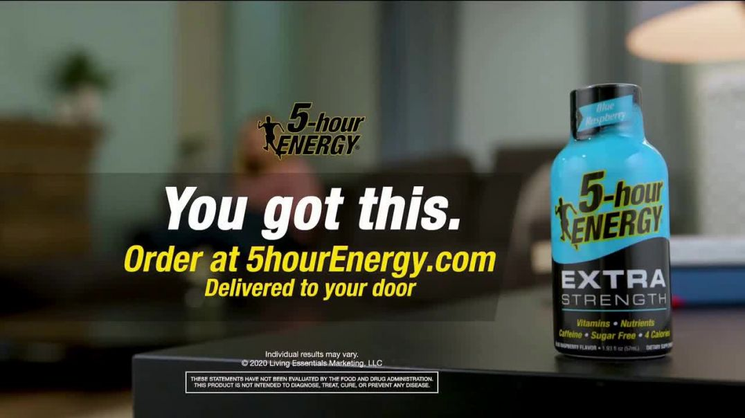 5-Hour Energy TV Commercial Ad 2020, Clean the Garage