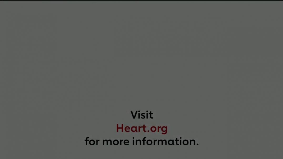 American Heart Association TV Commercial Ad 2020, Health Emergency
