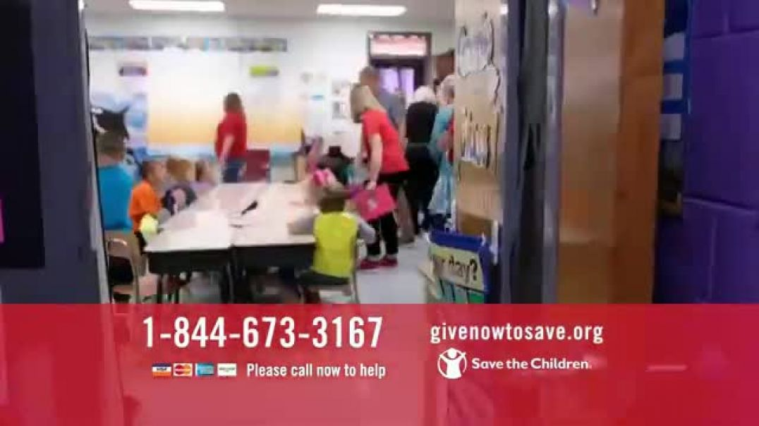 Save the Children TV Commercial Ad 2020, Distributing Nourishing Meals