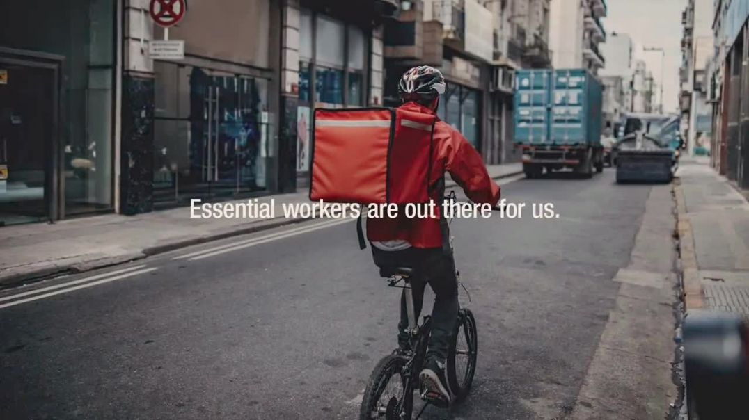 Ad Council TVCommercial Ad 2020, Thanking Essential Workers Song by Alicia Keys
