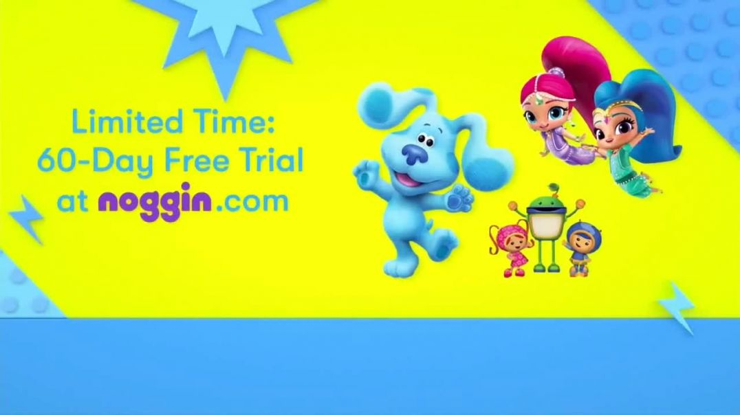 Noggin TVCommercial Ad 2020, Here to Save Screen Time- 60-Day Free Trial