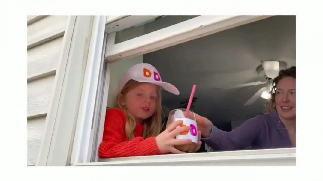 Dunkin TVCommercial Ad 2020, Mothers Day- Lets Raise a Cup