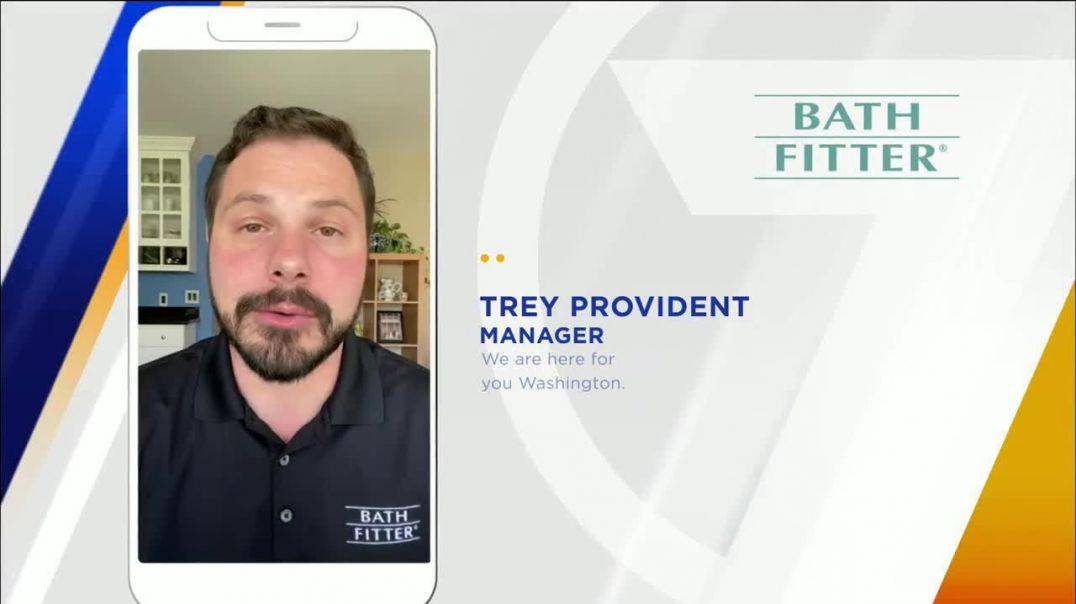 Bath Fitter TV Commercial Ad 2020, Washington Strong- Community