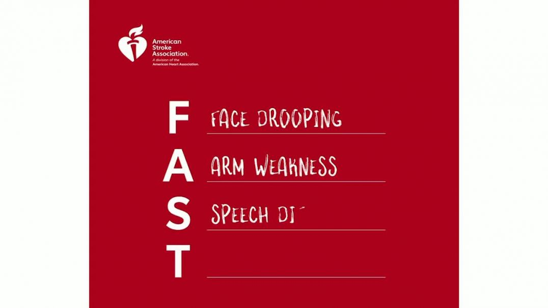 American Stroke Association TV Commercial Ad 2020, FAST