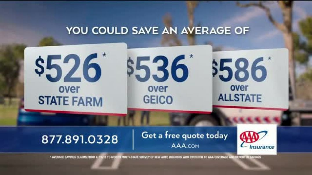 AAA TV Commercial Ad 2020, Paula and Joaquin Save Average of $537