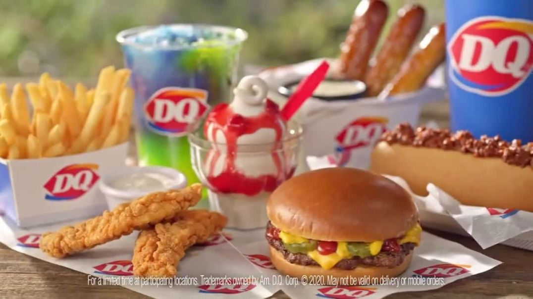 Dairy Queen Dairy Queen 2 for $4 Super Snack Menu TV Commercial Ad 2020, Car Console