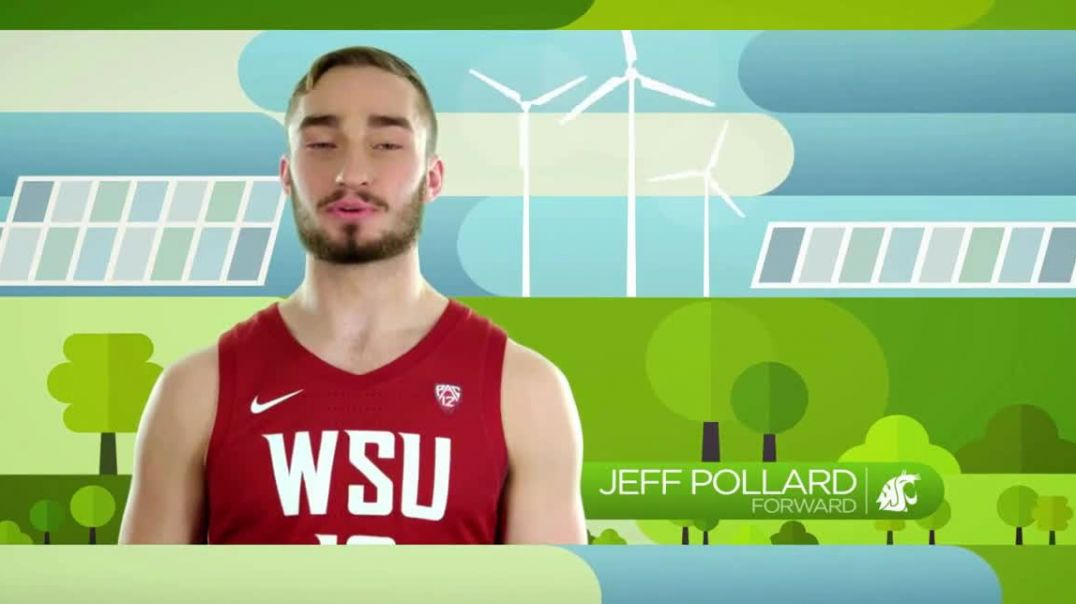 Pac-12 Conference TV Commercial Ad 2020, Team Green- Washington State University