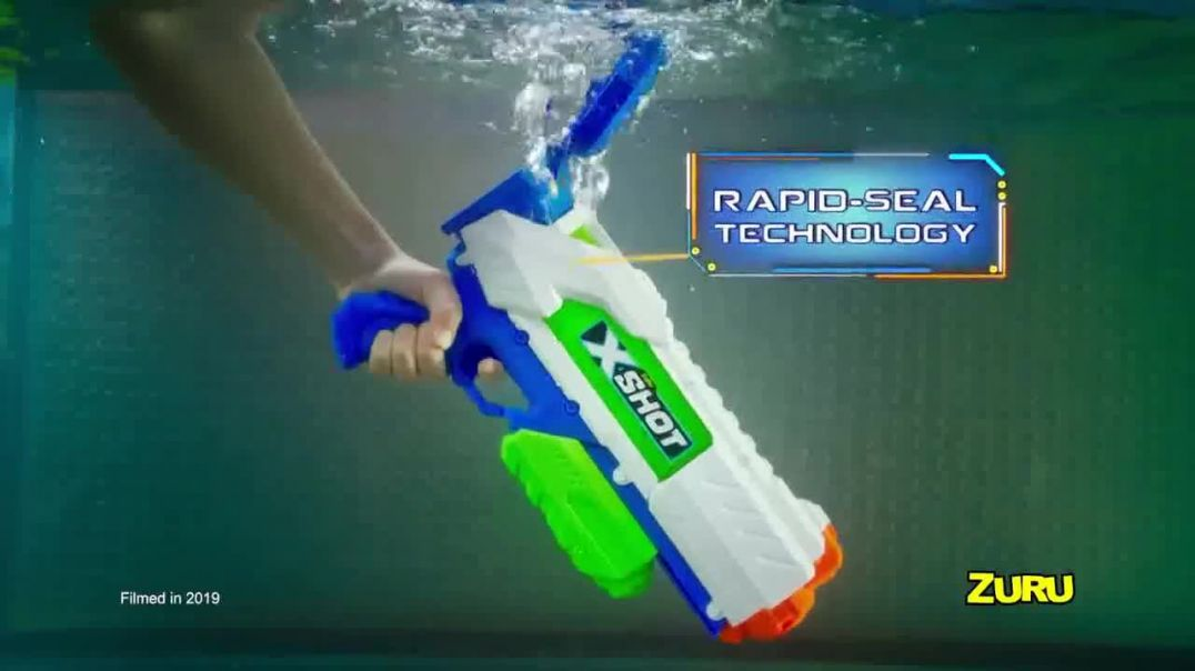 Zuru X-Shot Fast-Fill TV Commercial Ad 2020, Rapid-Seal Technology