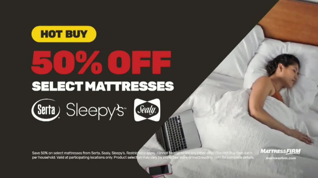 Mattress Firm Memorial Day Sale TV Commercial Ad 2020, King for a Queen, Free Adjustable Base &a