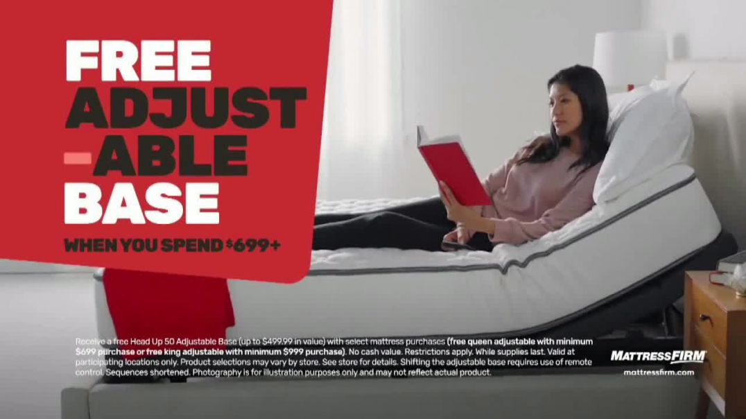 Mattress Firm Memorial Day Sale TV Commercial Ad 2020, King for a Queen & Free Adjustabl
