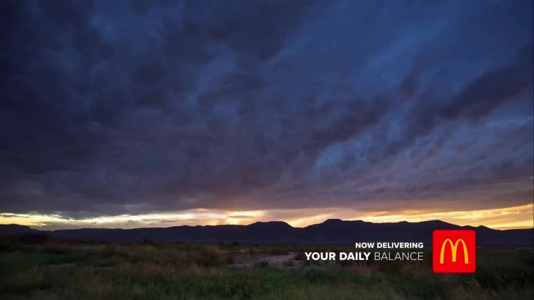 McDonalds TV Commercial Ad 2020, Your Daily Balance- Sunset