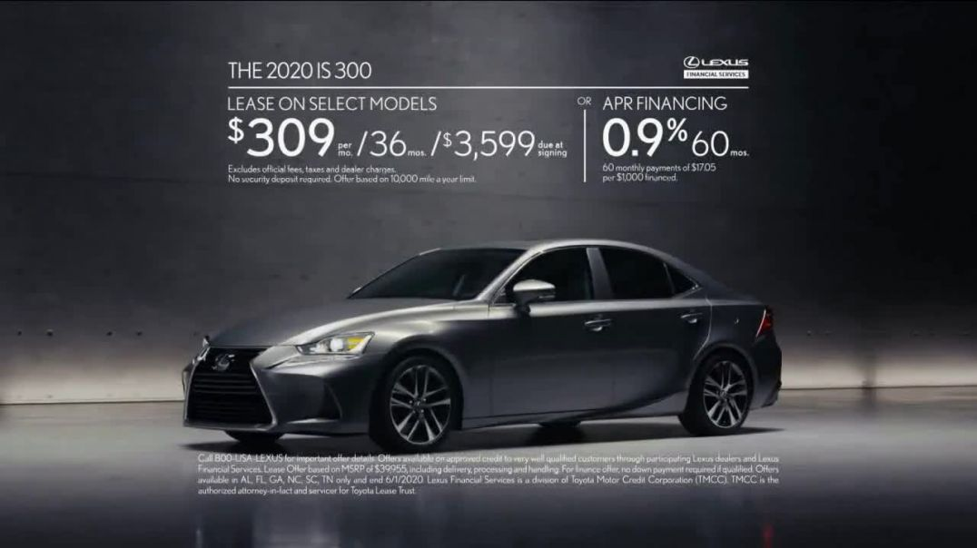 2020 Lexus IS TV Commercial Ad 2020, Legacy in the Making