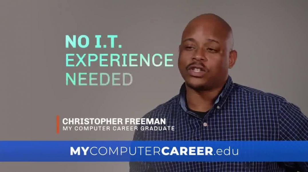 MyComputerCareer TV Commercial Ad 2020, Learn From Home- Growth Potential