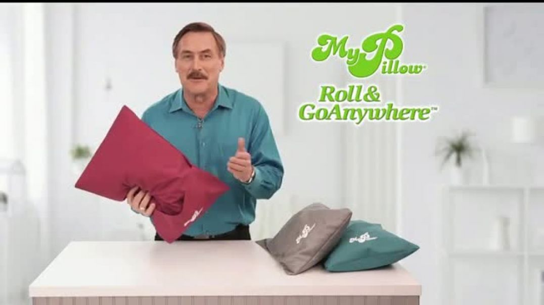 My Pillow Roll & GoAnywhere TV Commercial Ad 2020, Same Comfort and Support