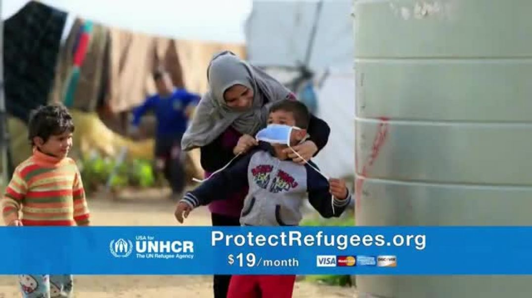 USA for UNHCR TV Commercial Ad 2020, Social Distancing is Impossible in Refugee Camps